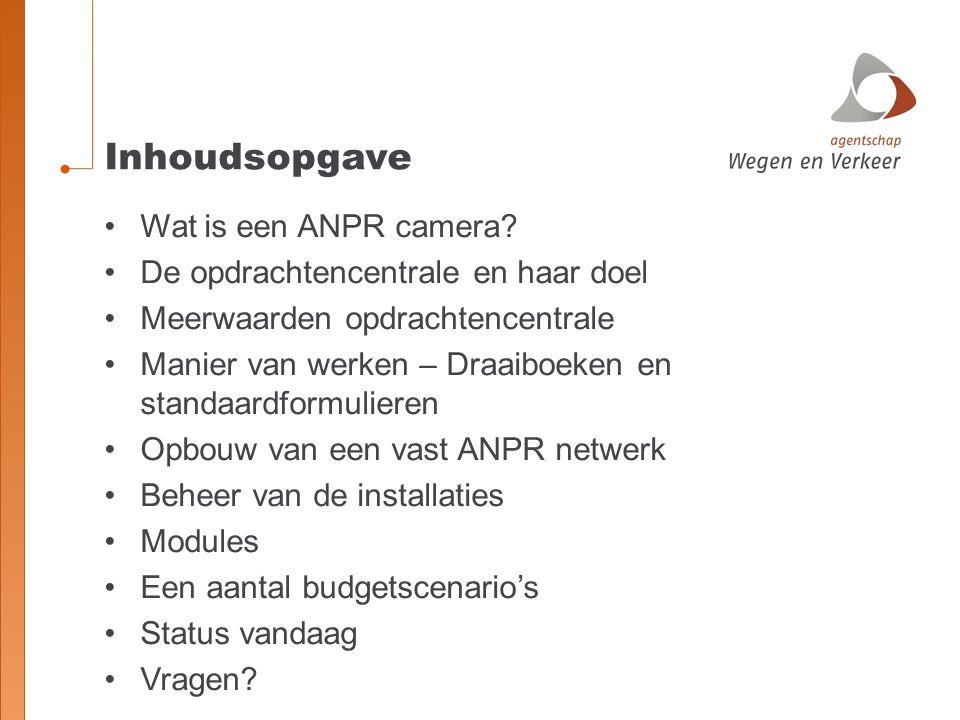 Wat is een ANPR camera?