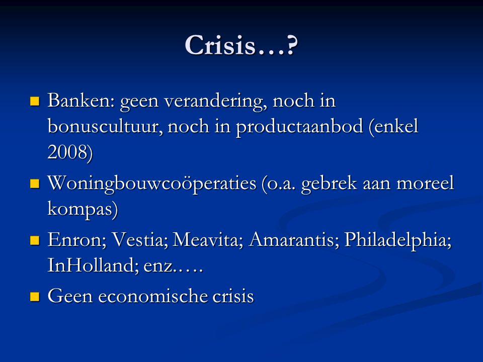 Crisis….