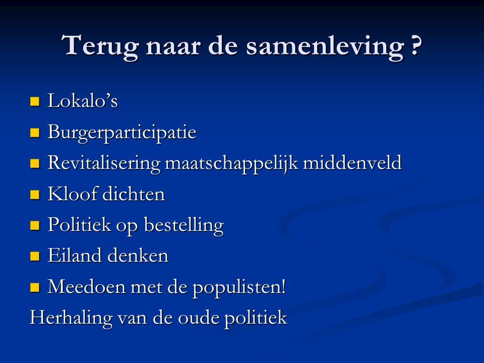 Rijnlandse denken Goede leven = wie ben ik?.(Sleutel) Goede leven = wie ben ik?.