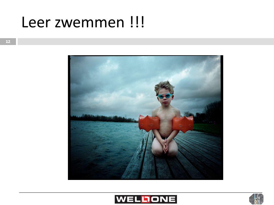 Leer zwemmen !!! 12