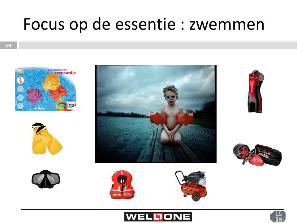 Focus op de essentie : zwemmen 64