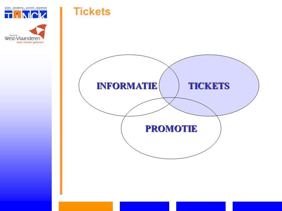 Tickets INFORMATIETICKETS PROMOTIE