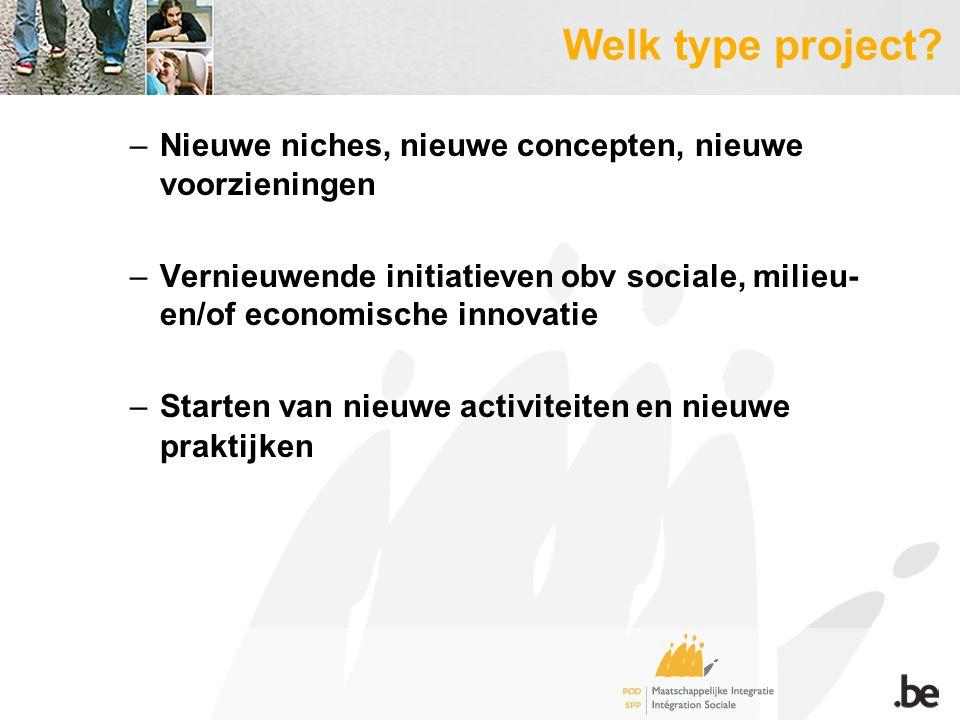Welk type project.