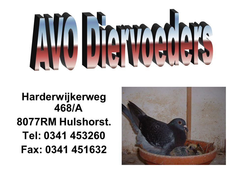 Harderwijkerweg 468/A 8077RM Hulshorst. Tel: 0341 453260 Fax: 0341 451632