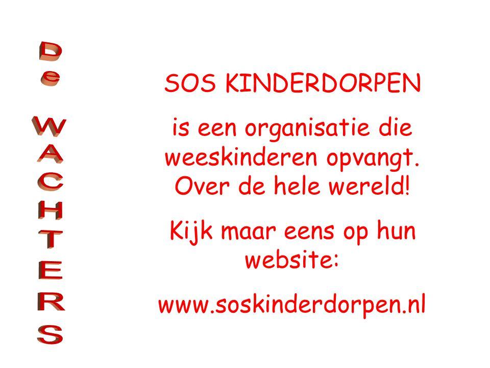 is een organisatie die weeskinderen opvangt.Over de hele wereld.