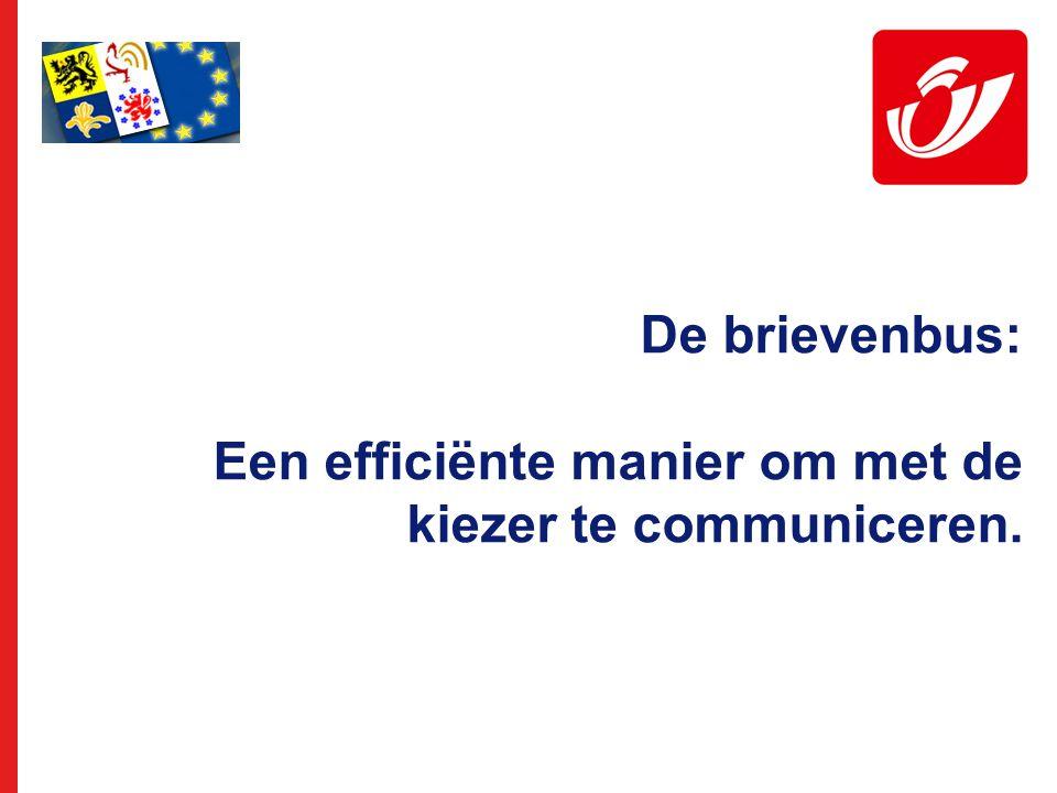 De brievenbus: Een efficiënte manier om met de kiezer te communiceren.