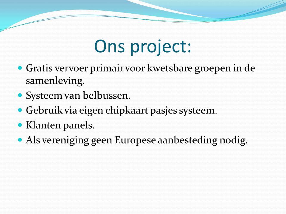 Intensivering samenwerking met Concessiehouder onder regie van Provincie Niet als concurrenten maar als partners samen werken.