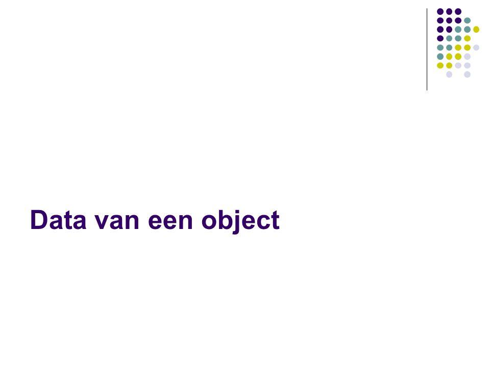 Klasse-attribuut Spaarrekening nr: long saldo: Euro laatsteMutatie: Datum rentetegoed: double renteperc: double Rekeninghouder naam: String adres: String