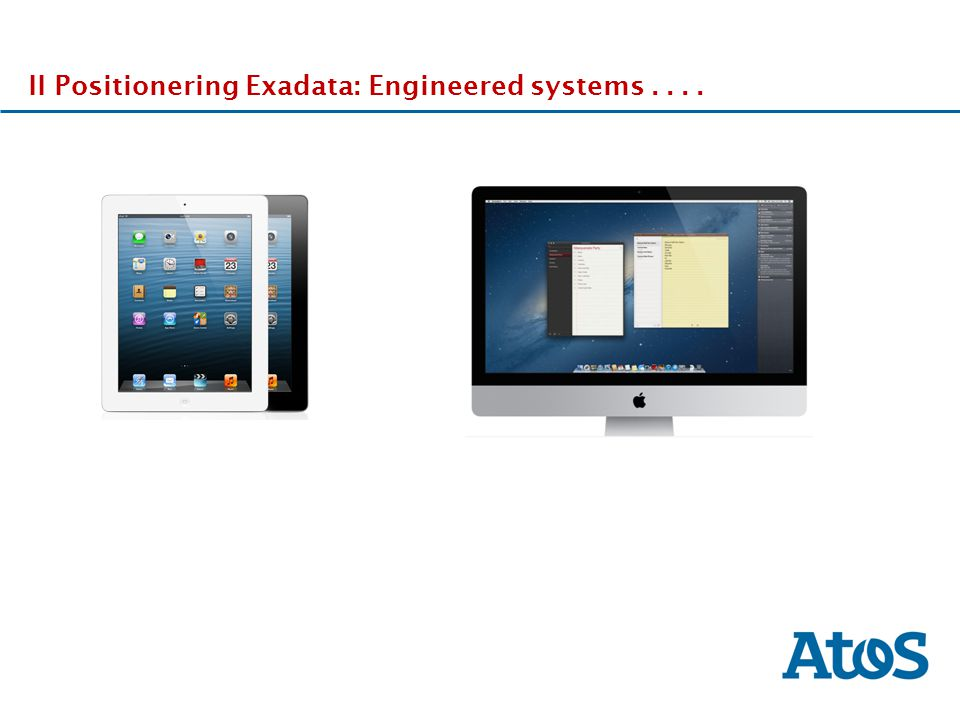 17-11-2011 II Positionering Exadata: Engineered systems....