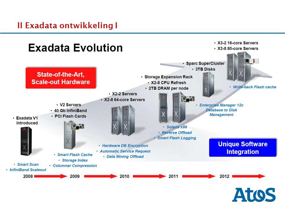 17-11-2011 II Exadata ontwikkeling I DDdDDd