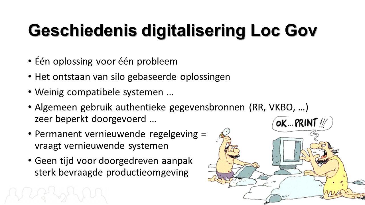 Geschiedenis digitalisering Loc Gov Één oplossing voor één probleem Het ontstaan van silo gebaseerde oplossingen Weinig compatibele systemen … Algemee