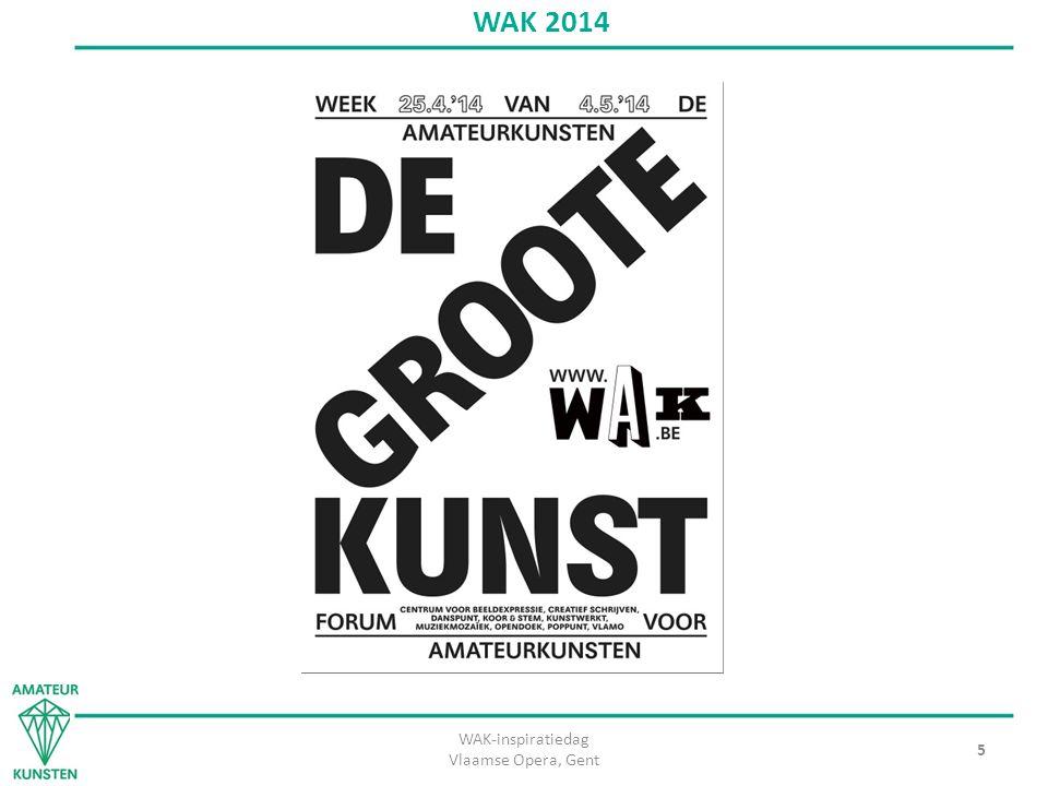 WAK-inspiratiedag Vlaamse Opera, Gent 5 WAK 2014