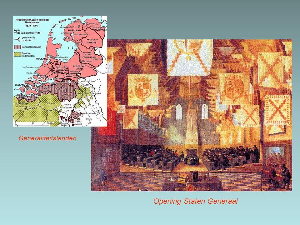 Generaliteitslanden Opening Staten Generaal