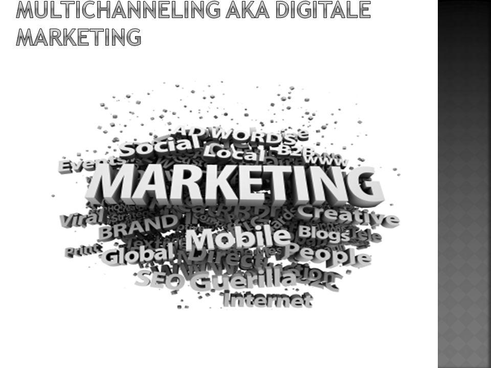 Multichannel strategie Een multichannel strategie vraagt een goed inzicht in de wensen van de/uw klanten.