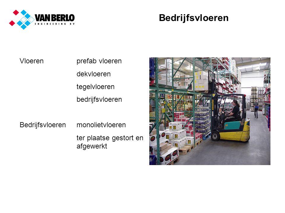 Bedrijfsvloeren Voorbeelden Hoogbouwmagazijn met smalle gangen