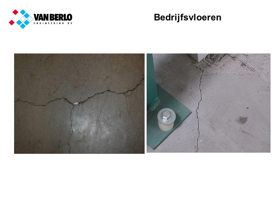 Bedrijfsvloeren Eisen aan beton voor monolietvloeren Constante verwerkbaarheid (zetmaat, schudmaat) Gelijkmatig opstijfgedrag, afgestemd op de afwerking van het beton Geen of zeer beperkte bleeding, samenhangend mengsel, maar niet plakkerig Gecontroleerde ontwikkeling van de treksterkte Gecontroleerde ontwikkeling van de krimp Gecontroleerde ontwikkeling van de relaxatie MET ANDERE WOORDENVLOERENBETON