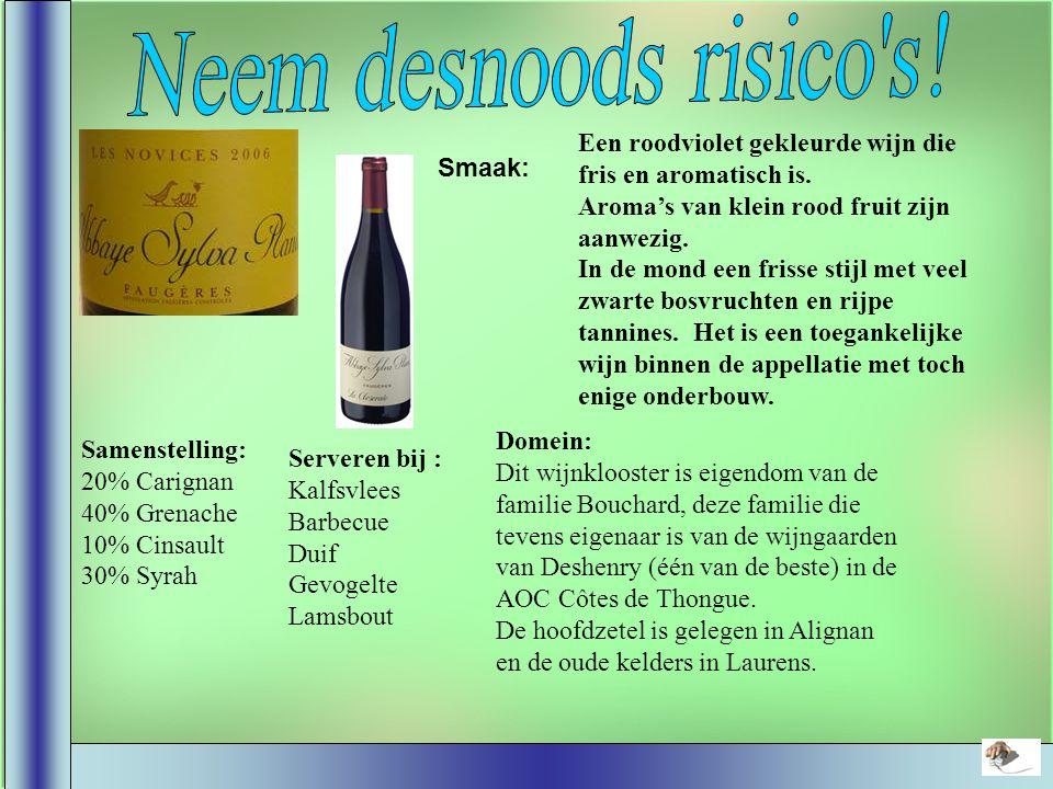 Smaak: De Verdicchio dei Castelli di Jesi is genoemd naar de druif waaruit de wijn geproduceerd is.