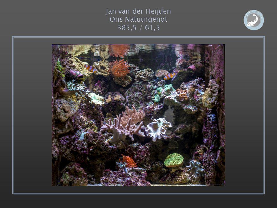 Jan van der Heijden Ons Natuurgenot 385,5 / 61,5