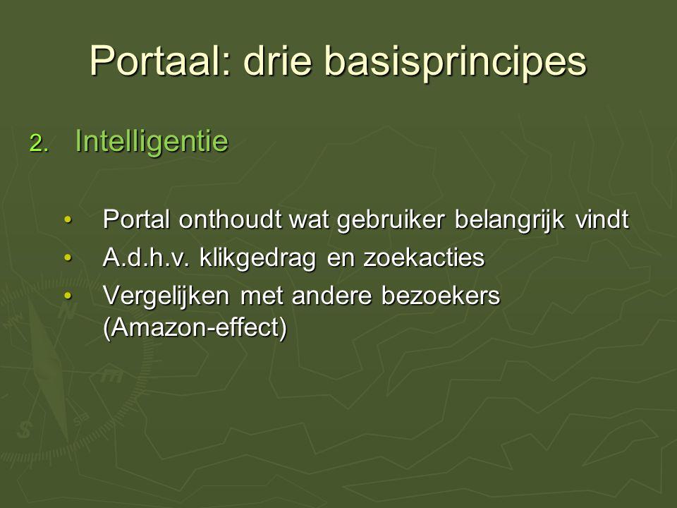 Portaal: drie basisprincipes 2.