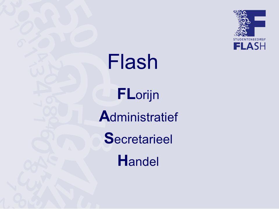 Flash FL orijn A dministratief S ecretarieel H andel