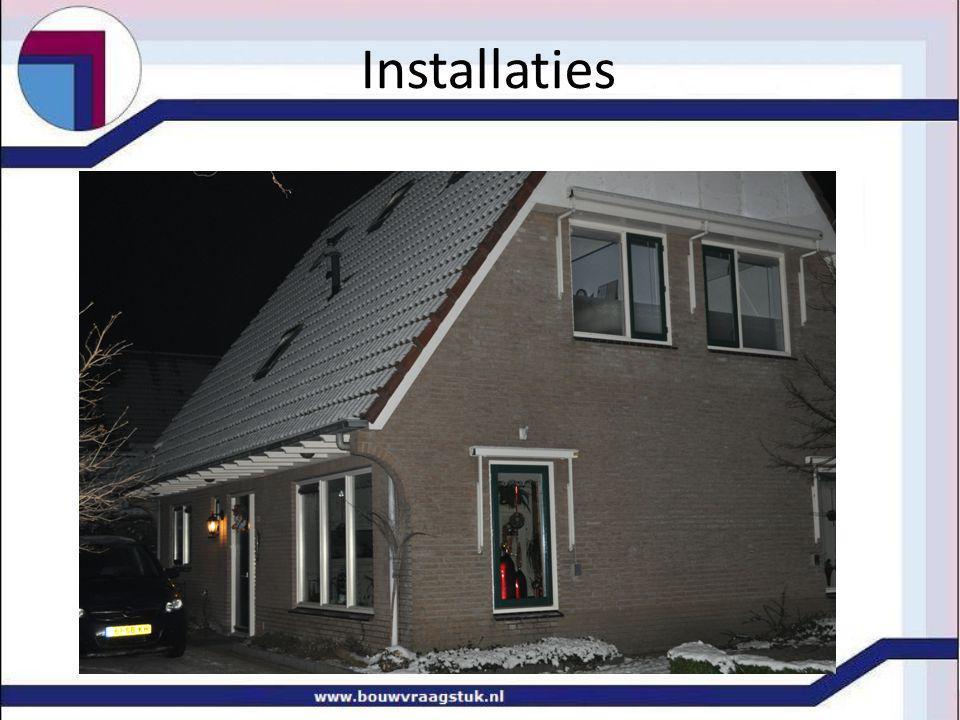Stand van zaken installaties berekeningen warmtevraag programma van eisen temperaturen.