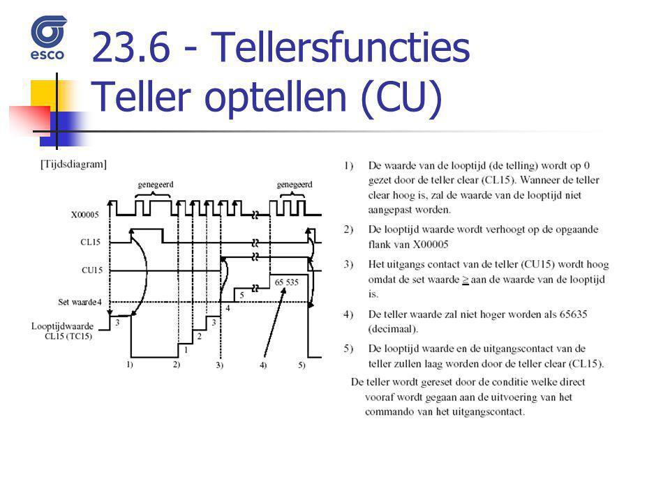 23.6 - Tellersfuncties Teller optellen (CU)