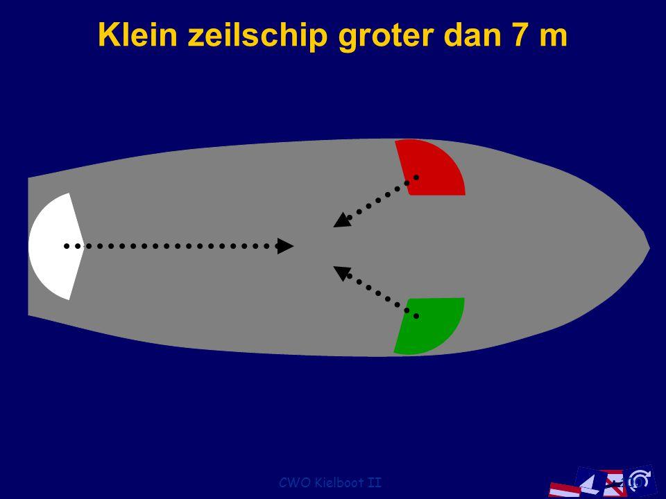 CWO Kielboot II100 Klein zeilschip groter dan 7 m