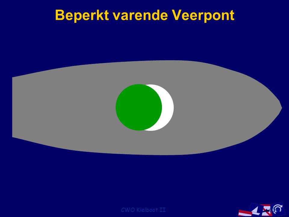 CWO Kielboot II106 Beperkt varende Veerpont