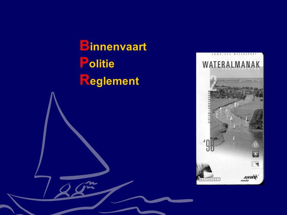 CWO Kielboot II4 B innenvaart P olitie R eglement