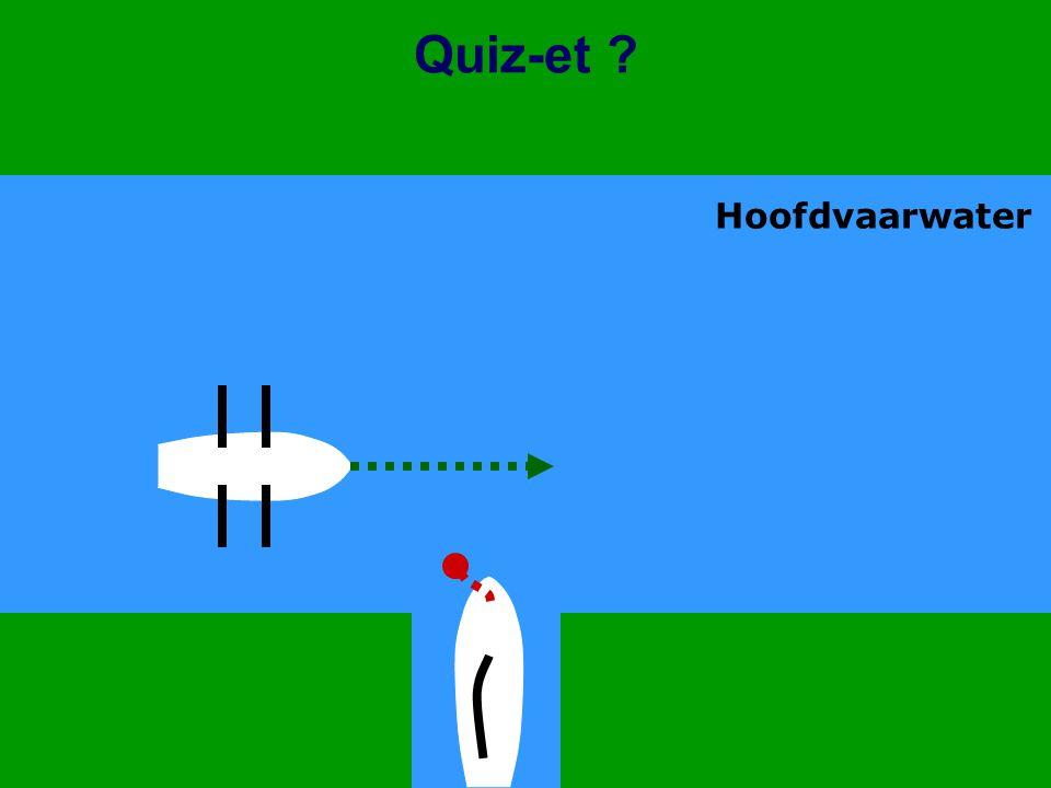 CWO Kielboot II41 Quiz-et ? Hoofdvaarwater
