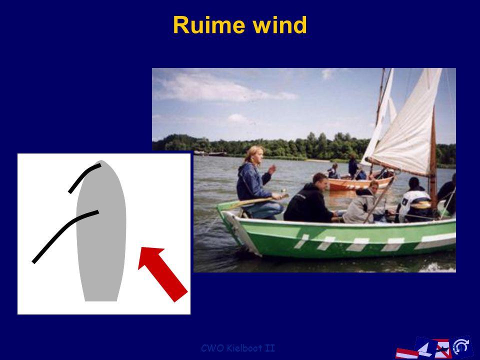 CWO Kielboot II54 Ruime wind