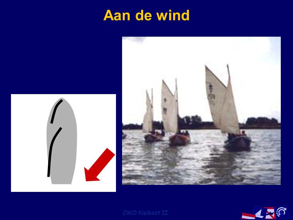 CWO Kielboot II56 Aan de wind