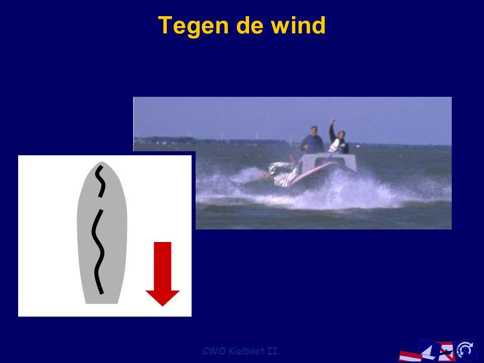 CWO Kielboot II57 Tegen de wind
