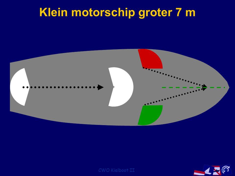 CWO Kielboot II99 Klein motorschip groter 7 m