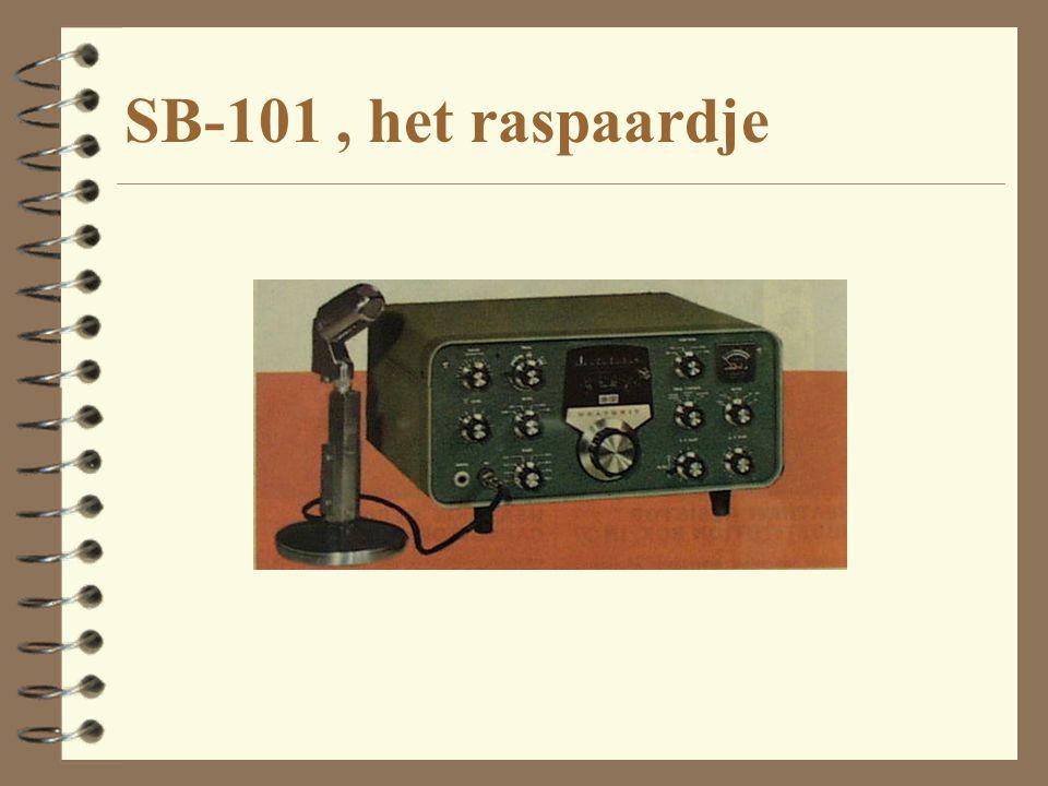 SB-101, het raspaardje
