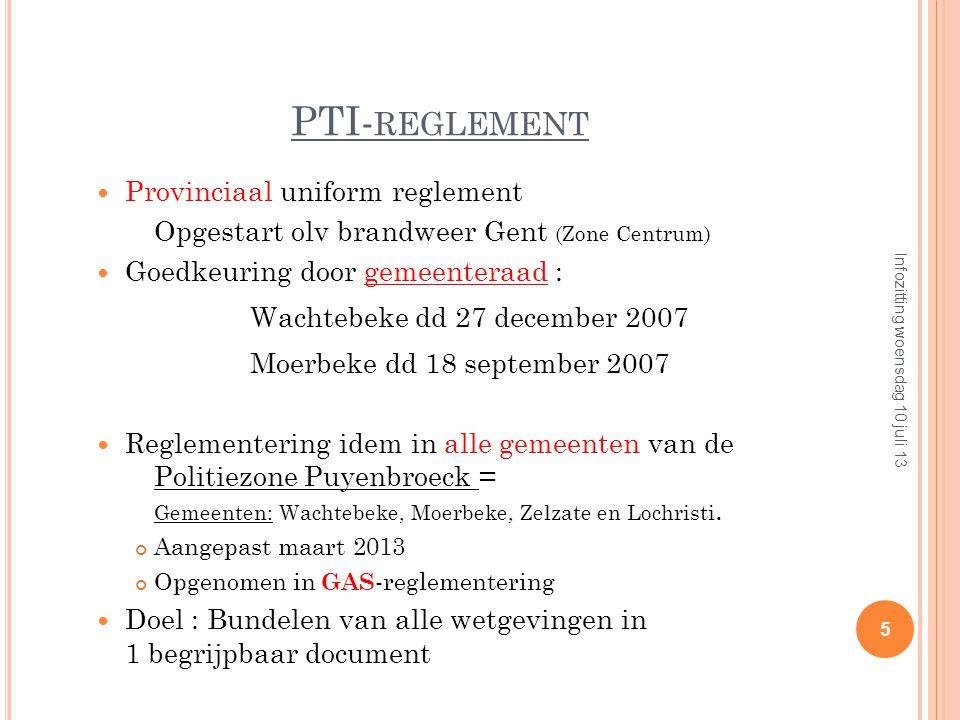 A ANLEIDING VAN DEZE REGLEMENTEN Voorgaanden Brand in Switel-hotel in Antwerpen (31/12/1994) 15 doden Kerstboom….. Café in Volendam (1/1/2001) 14 dode