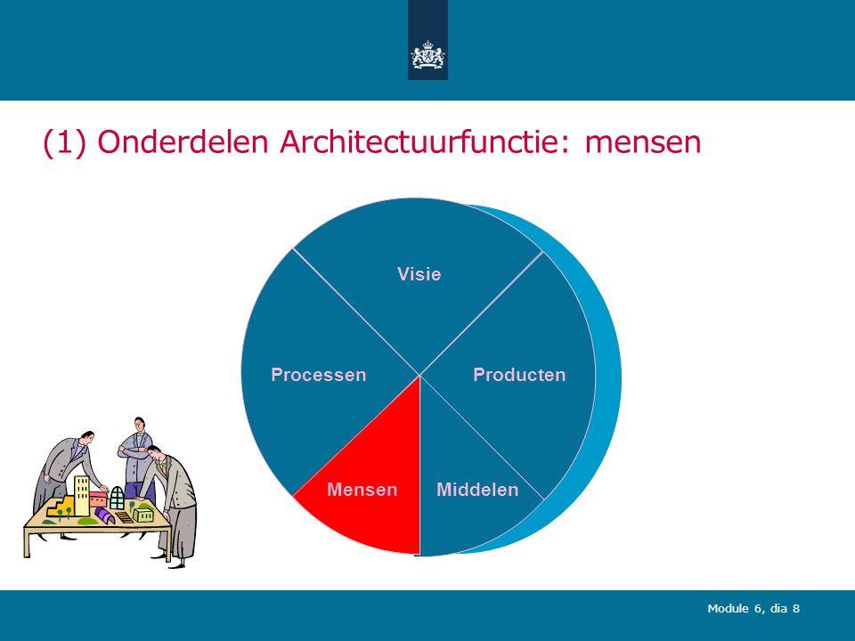 Module 6, dia 19 (3) Competenties architectuurfunctie: Top 10 competenties EA en IA geïntegreerd
