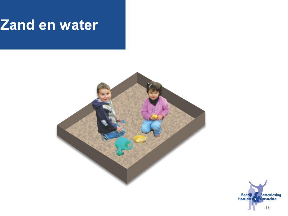 16 Zand en water