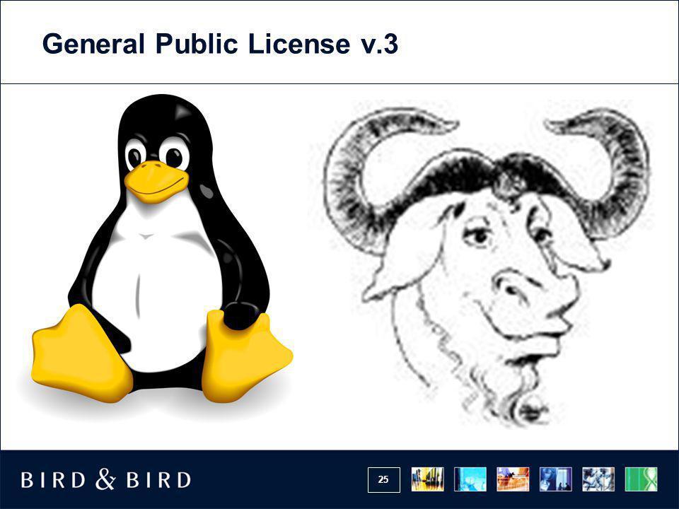 25 General Public License v.3