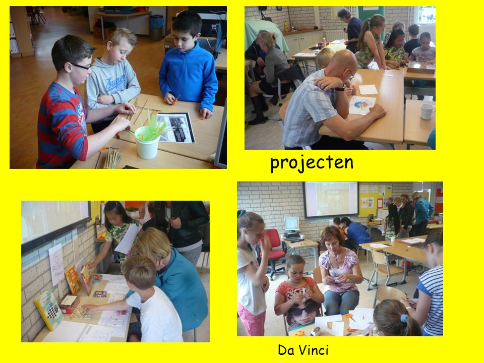 projecten Da Vinci