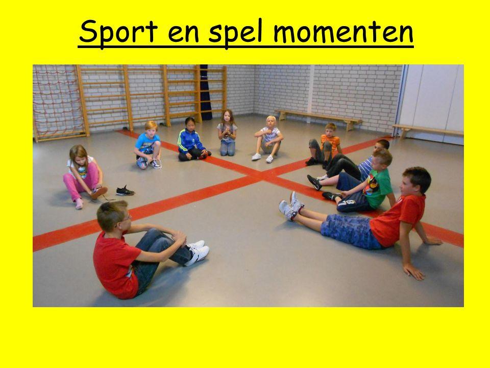 Sport en spel momenten