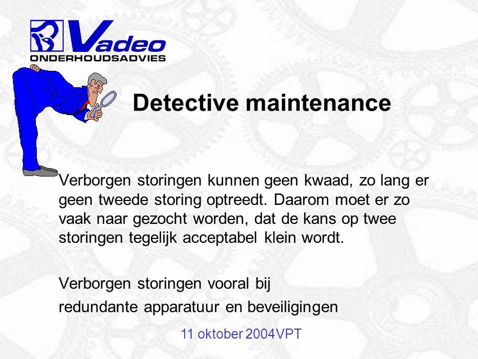 11 oktober 2004VPT Inspectie van een electromotor
