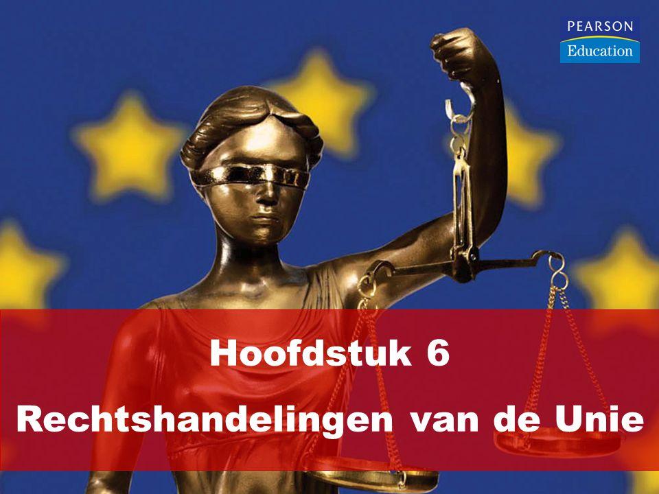 Hoofdstuk 6 Rechtshandelingen van de Unie