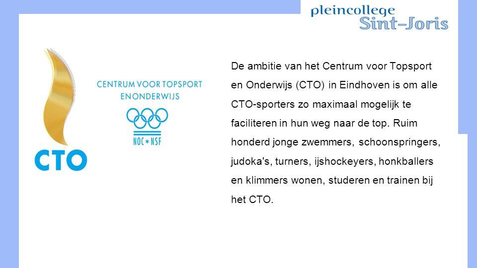 De ambitie van het Centrum voor Topsport en Onderwijs (CTO) in Eindhoven is om alle CTO-sporters zo maximaal mogelijk te faciliteren in hun weg naar de top.