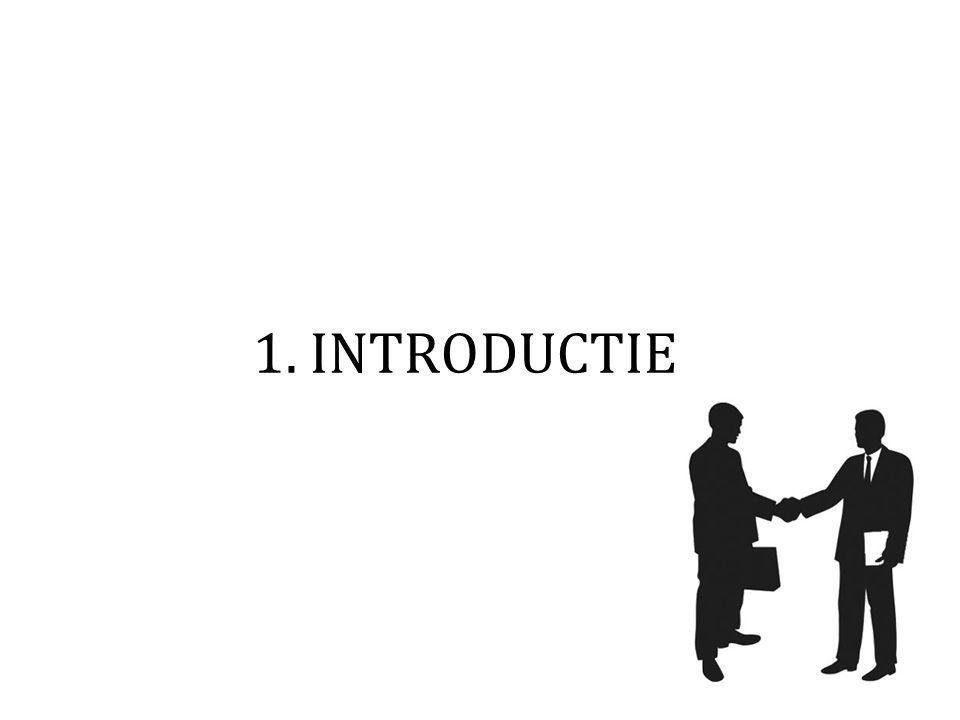 1. INTRODUCTIE