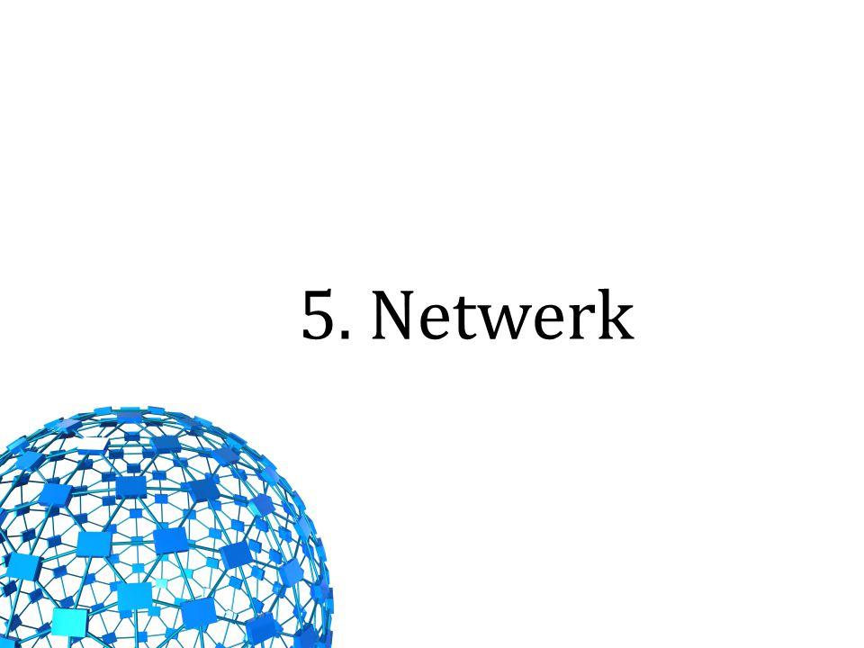 5. Netwerk