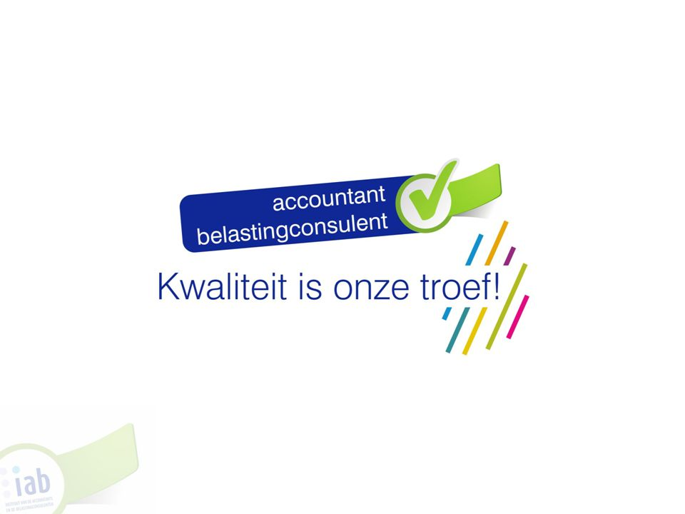 A.Hoe is de examencommissie samengesteld. a.Docenten b.Accountants c.Belastingconsulenten 32 IV.
