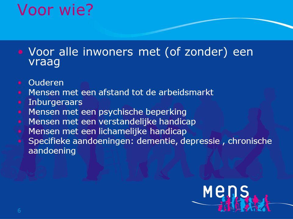 7 MENS Onderdelen De Bilt-West Maartensdijk Wijkservicecentra netwerk