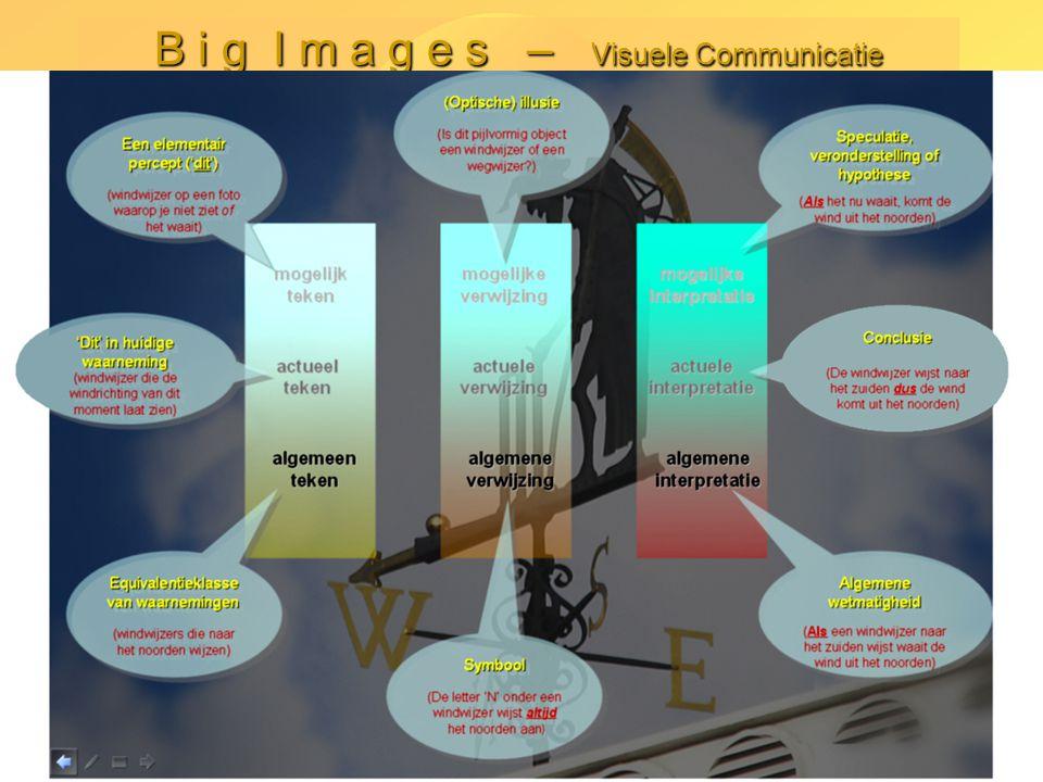 Kees van Overveld B i g I m a g e s – Visuele Communicatie -9-