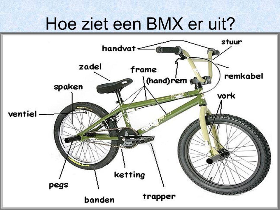 Hoe ziet een BMX er uit?